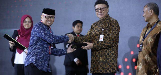 Penghargaan dari kemenPAN RB